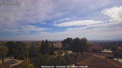 view from Montserrat - Casadalt (Valencia - Spain) on 2019-03-04