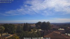 view from Montserrat - Casadalt (Valencia - Spain) on 2019-03-07