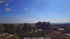 view from Montserrat - Casadalt (Valencia - Spain) on 2019-03-11