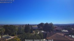 view from Montserrat - Casadalt (Valencia - Spain) on 2019-03-14