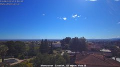 view from Montserrat - Casadalt (Valencia - Spain) on 2019-04-10