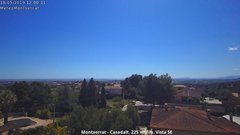 view from Montserrat - Casadalt (Valencia - Spain) on 2019-05-10