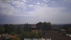 view from Montserrat - Casadalt (Valencia - Spain) on 2019-07-08
