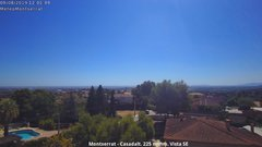 view from Montserrat - Casadalt (Valencia - Spain) on 2019-08-09