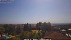 view from Montserrat - Casadalt (Valencia - Spain) on 2019-08-10