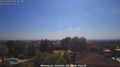 view from Montserrat - Casadalt (Valencia - Spain) on 2019-08-15