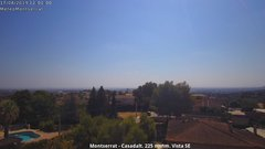 view from Montserrat - Casadalt (Valencia - Spain) on 2019-08-17