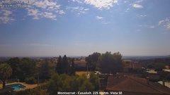 view from Montserrat - Casadalt (Valencia - Spain) on 2019-08-18