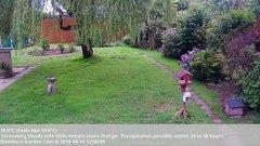 view from Wembury, Devon. Garden Cam on 2018-08-14