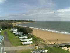 view from Cowes Yacht Club - West on 2018-08-04