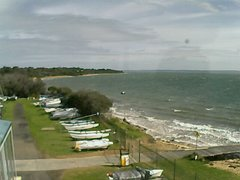 view from Cowes Yacht Club - West on 2018-08-12