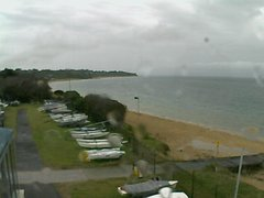 view from Cowes Yacht Club - West on 2018-10-09