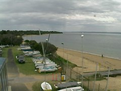 view from Cowes Yacht Club - West on 2018-12-08