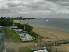 view from Cowes Yacht Club - West on 2018-12-10