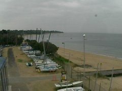 view from Cowes Yacht Club - West on 2019-02-05