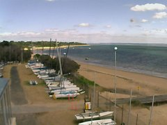 view from Cowes Yacht Club - West on 2019-02-11