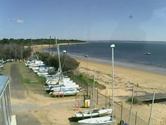 view from Cowes Yacht Club - West on 2019-04-14
