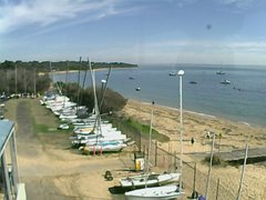 view from Cowes Yacht Club - West on 2019-04-20