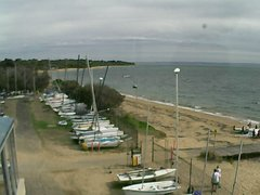 view from Cowes Yacht Club - West on 2019-04-21