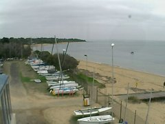 view from Cowes Yacht Club - West on 2019-04-23