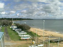 view from Cowes Yacht Club - West on 2019-06-04