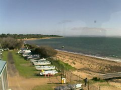 view from Cowes Yacht Club - West on 2019-06-13