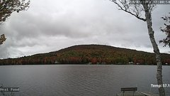 view from Neal Pond on 2018-10-07