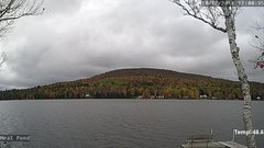 view from Neal Pond on 2018-10-12