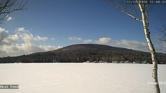 view from Neal Pond on 2018-12-12