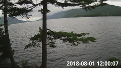 view from Bluffhead Hullets Landing, NY on 2018-08-01
