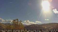 view from Horseshoe Bend, Idaho CAM2 on 2018-11-07