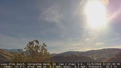 view from Horseshoe Bend, Idaho CAM2 on 2018-11-09