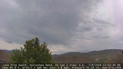 view from Horseshoe Bend, Idaho CAM2 on 2019-07-08
