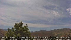 view from Horseshoe Bend, Idaho CAM2 on 2019-07-15