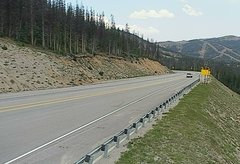 view from 4 - Highway 50 Road Conditions on 2018-08-13