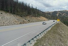 view from 4 - Highway 50 Road Conditions on 2018-09-09