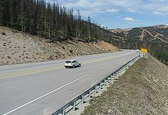 view from 4 - Highway 50 Road Conditions on 2018-09-10