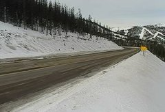 view from 4 - Highway 50 Road Conditions on 2018-12-17