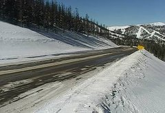 view from 4 - Highway 50 Road Conditions on 2019-02-10