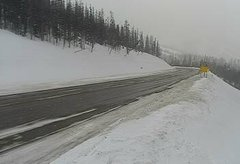 view from 4 - Highway 50 Road Conditions on 2019-02-11