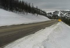 view from 4 - Highway 50 Road Conditions on 2019-02-13