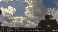 view from University Place Apartments - South Weather on 2018-09-14