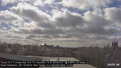 view from University Place Apartments - South Weather on 2019-02-08