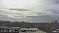 view from University Place Apartments - South Weather on 2019-02-09