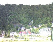 view from Webcam in Bad Schandau, Krippen & Postelwitz on 2018-08-16