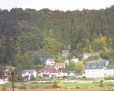 view from Webcam in Bad Schandau, Krippen & Postelwitz on 2018-10-09