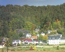 view from Webcam in Bad Schandau, Krippen & Postelwitz on 2018-10-10