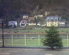 view from Webcam in Bad Schandau, Krippen & Postelwitz on 2018-12-16