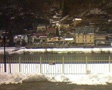 view from Webcam in Bad Schandau, Krippen & Postelwitz on 2019-02-05