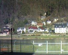 view from Webcam in Bad Schandau, Krippen & Postelwitz on 2019-02-16